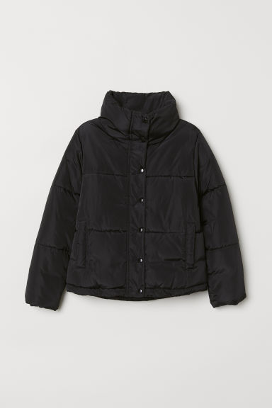 Padded jacket - Black - Kids | H&M CN