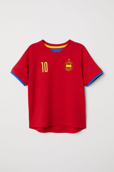 Football shirt - Red/España - Kids | H&M CN