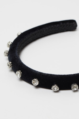 Hairband with Rhinestones