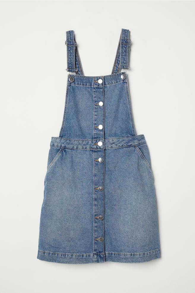 9d982e59c98 Bib Overall Dress - Denim blue -
