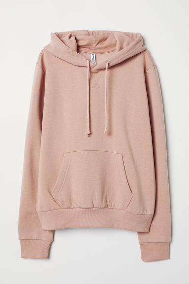 Hooded top - Powder pink -  | H&M CN