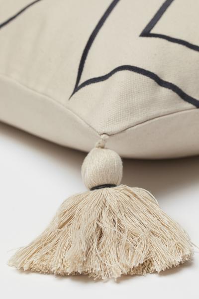 H&M - Tasselled cushion cover - 4
