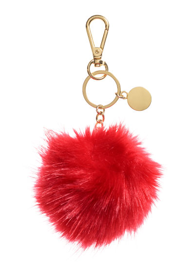 Keyring - Bright red -  | H&M