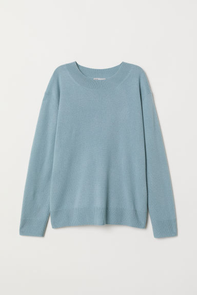 Cashmere jumper - Light turquoise - Ladies | H&M GB