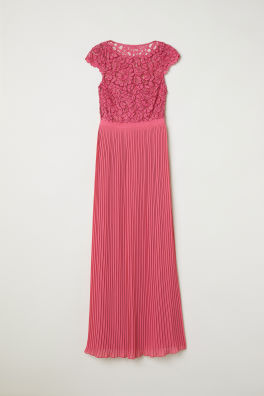 43e2ac8e723 Pleated Long Dress
