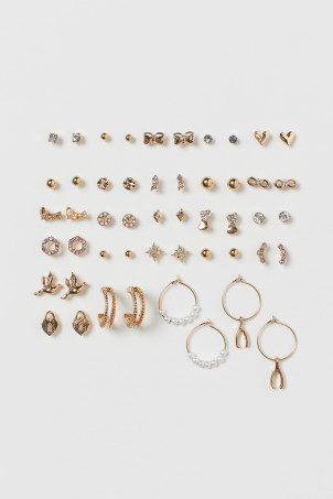 25 pairs earrings