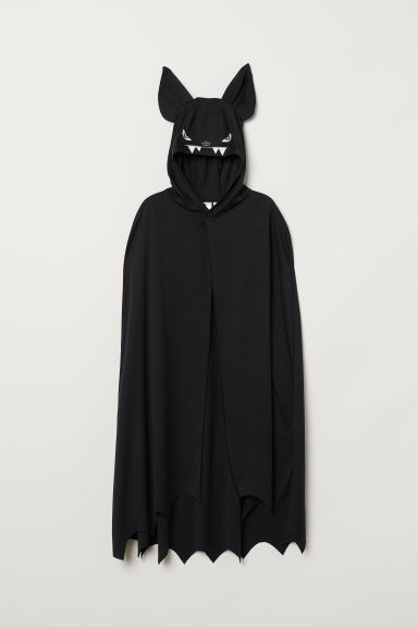 Fancy dress cape - Black/Bat - Kids | H&M