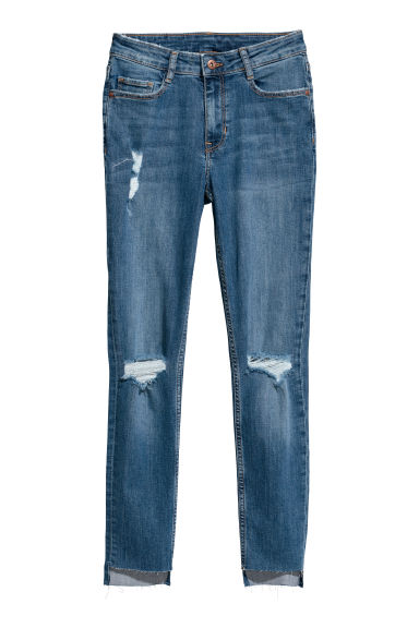 Petite Fit Super Skinny Jeans - Denim blue - Ladies | H&M