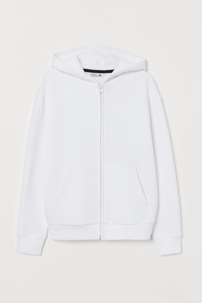 Hooded jacket - White - Kids | H&M IE