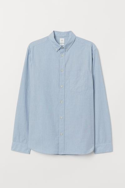H&M - Cotton shirt Regular Fit - 5