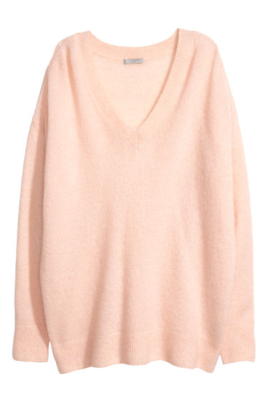 Pullover in misto mohair - Rosa chiaro - DONNA | H&M IT