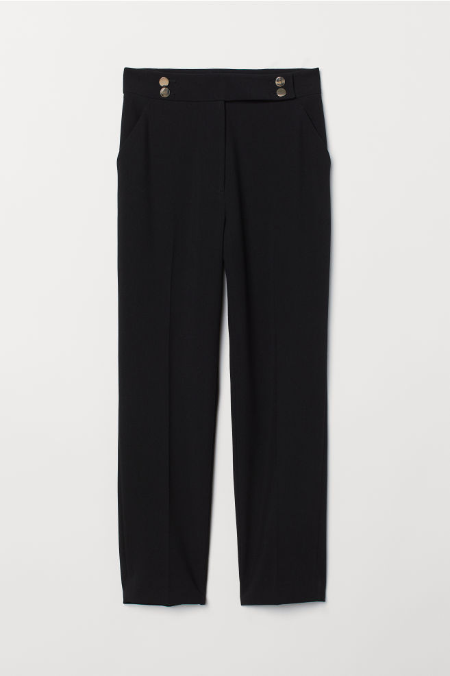 260e67edd Slacks - Black - Ladies | H&M ...