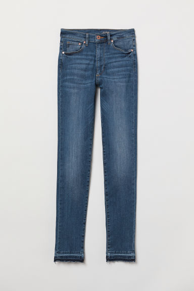 Shaping Skinny High Jeans - Dark denim blue -  | H&M US