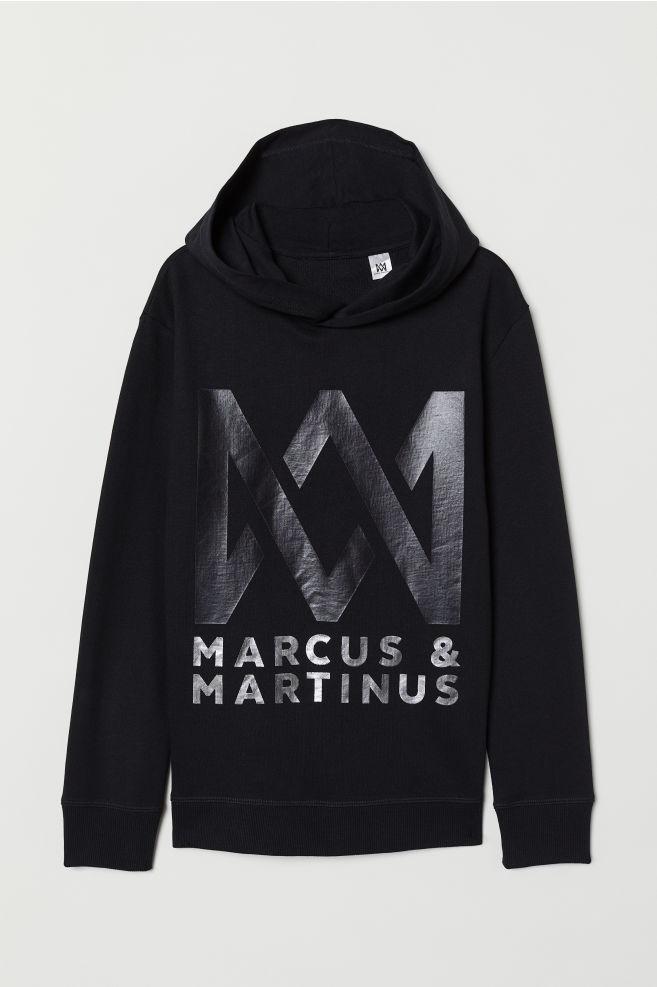Hoodie Mit Druck Schwarzmarcus Martinus Kids Hm At