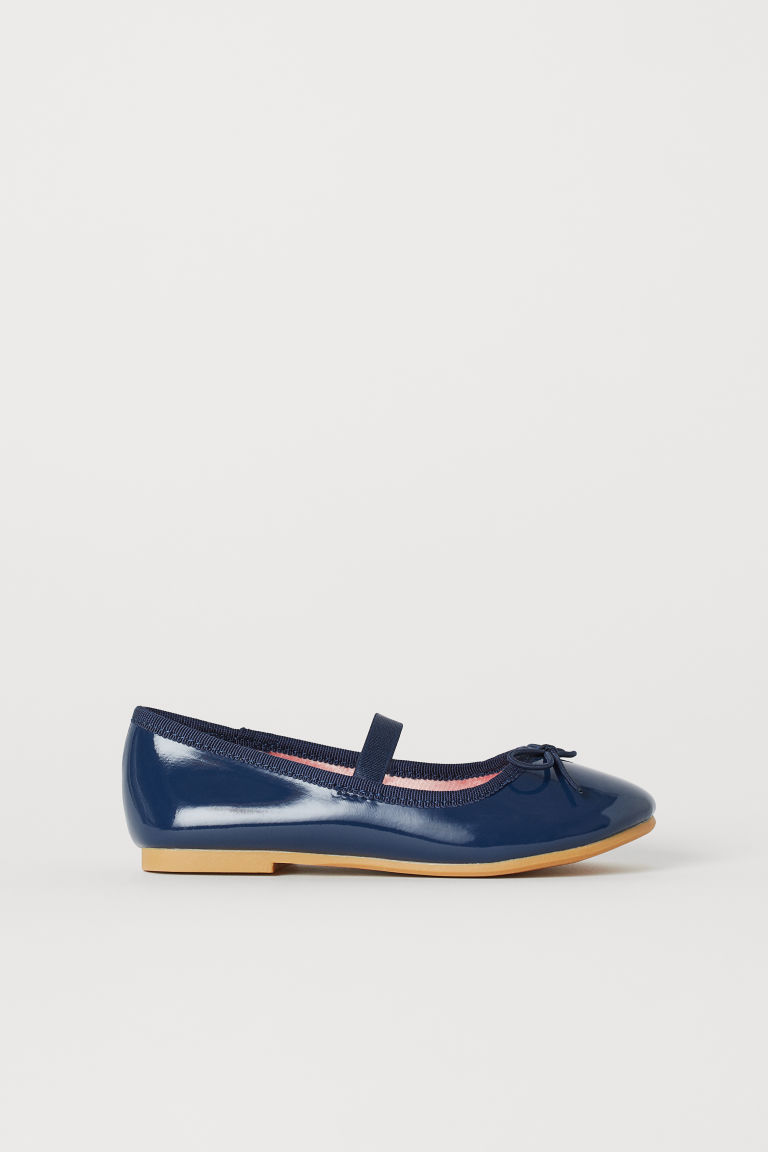Ballet pumps - Dark blue - Kids | H&M CN