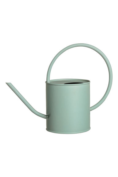 Metal Watering Can - Dusky green - Home All | H&M US