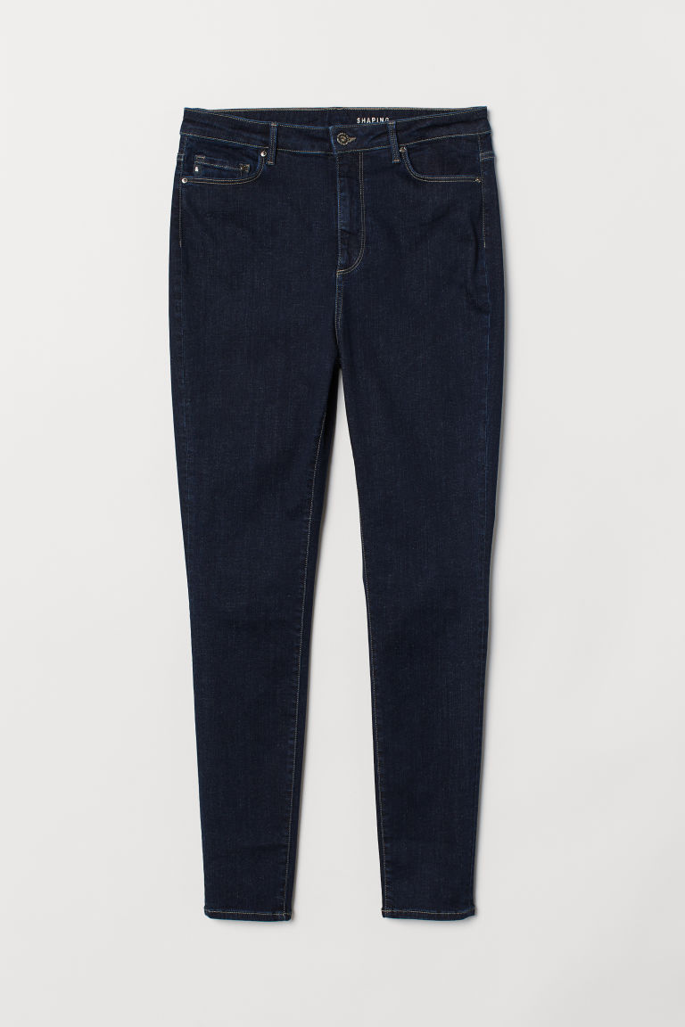 H&M+ Jeans Shaping High - Azul denim oscuro - Ladies | H&M MX