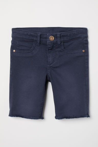 Shorts lunghi in denim - Blu scuro - BAMBINO | H&M IT