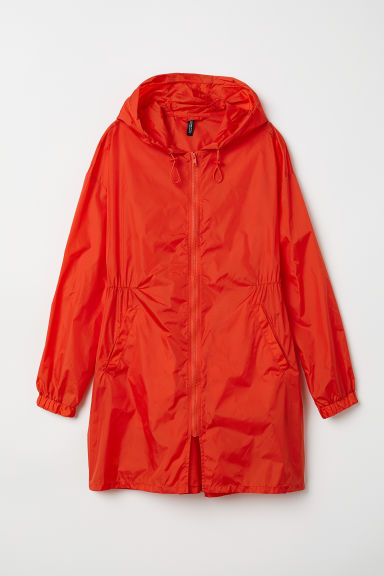 Nylon outdoor jacket - Bright red -  | H&M