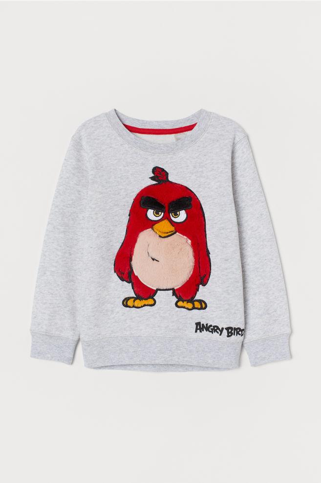 368474836 Sweatshirt med motiv