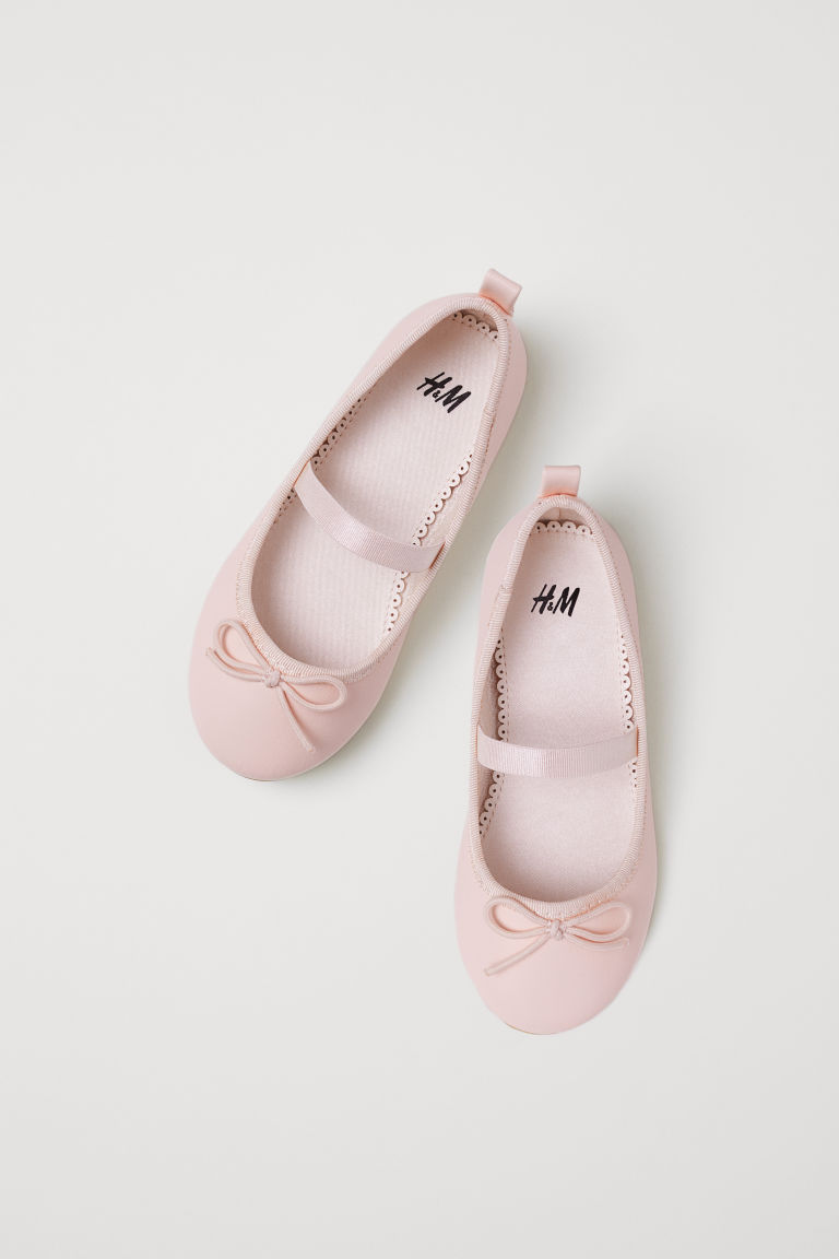 Ballet pumps - Light powder pink - Kids | H&M CN