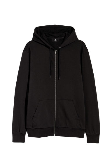 Hooded jacket Regular fit - Black - Men | H&M