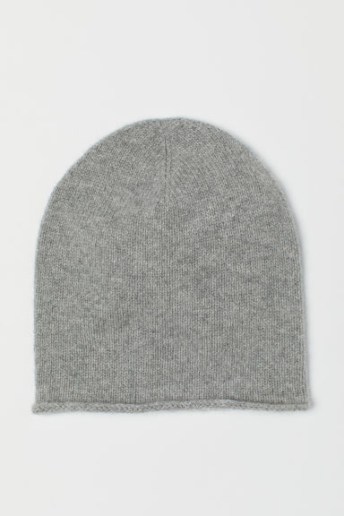 Cashmere Hat - Gray melange - Ladies | H&M US
