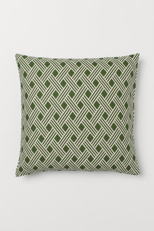 Cotton Canvas Cushion Cover