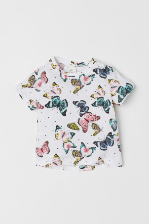 Top with Printed Design