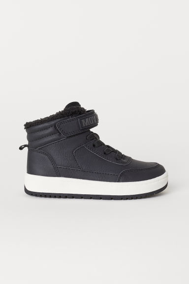 Pile-lined hi-tops - Black - Kids | H&M