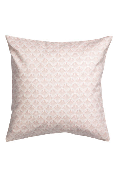Patterned cushion cover - Pink/Patterned -  | H&M IE
