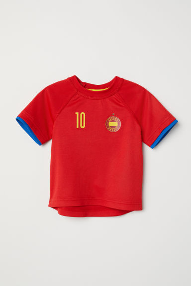 Football shirt - Red/España -  | H&M CN