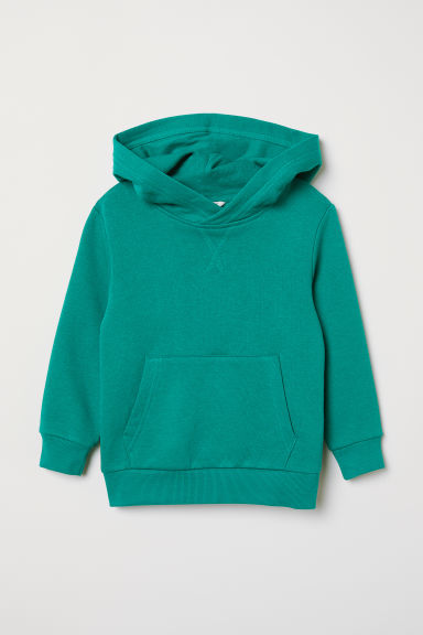 Hooded top - Green - Kids | H&M
