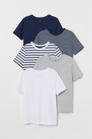 5-pack T-shirts