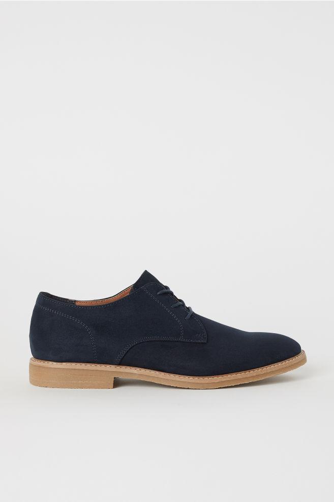 33e3240d0bd6 Derby Shoes - Dark blue - Men