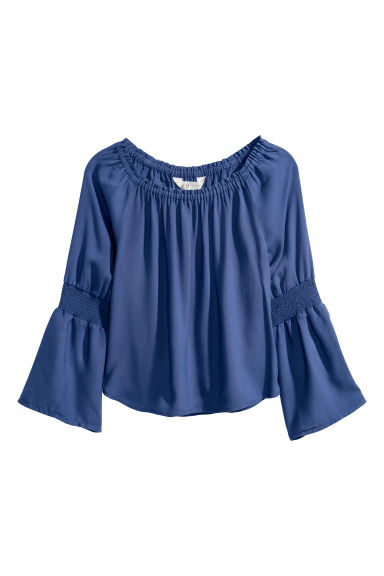 Top - Dark blue -  | H&M