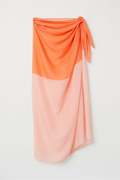 Sarong - Orange - Ladies | H&M CN