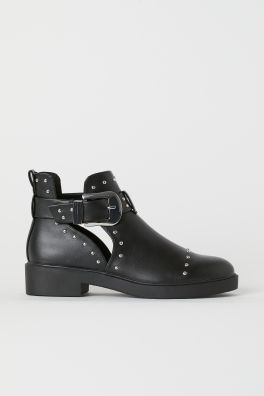 e0919ab6932d Ankle Boots with Studs