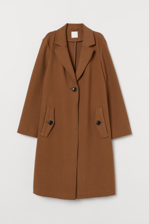 Straight-cut Coat