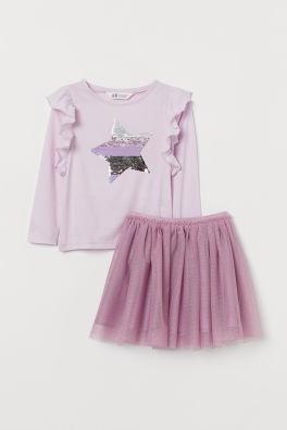 fotos oficiales b8b8c 29d2d Vestidos y faldas para niña - Amplia selección | H&M ES