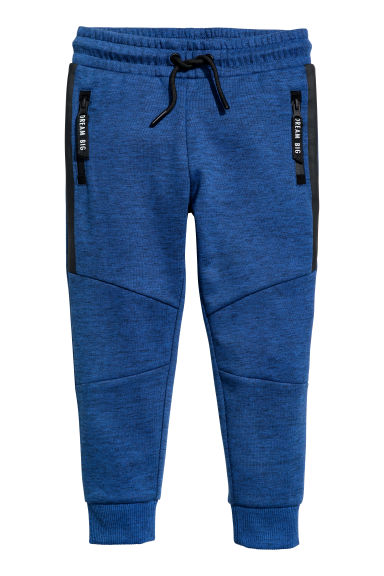 Joggers - Dark blue marl - Kids | H&M CN