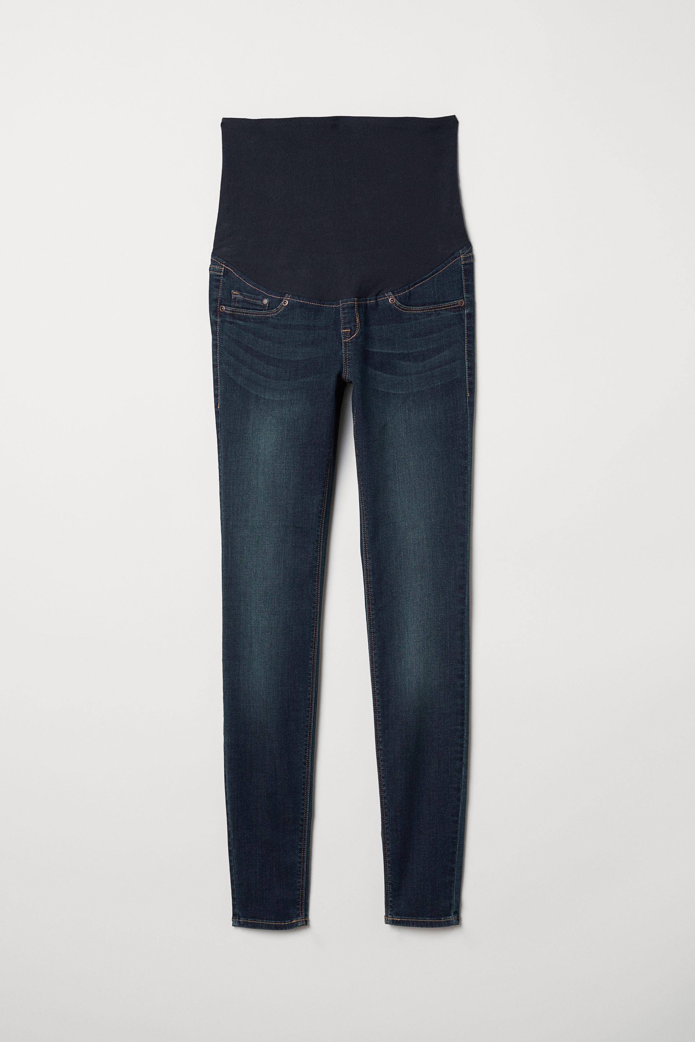 296b7a868418c MAMA Super Skinny Jeans - Dark grey denim - Ladies | H&M GB