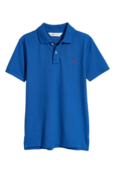 Polo shirt - Bright blue - Kids | H&M