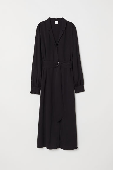 V-neck Dress - Black - Ladies | H&M US