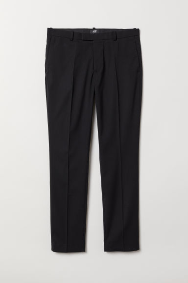 Suit Pants Skinny fit - Black - Men | H&M CA