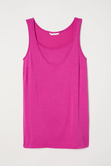 MAMA Nursing vest top - Cerise - Ladies | H&M
