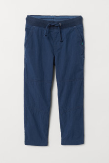 Jersey-lined trousers