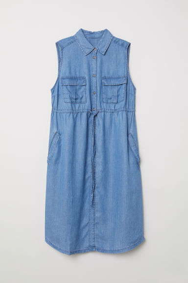 MAMA Utility dress - Denim blue - Ladies | H&M CN