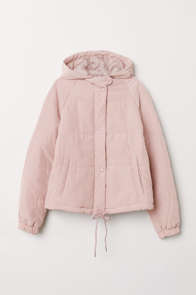Padded jacket - Light pink -  | H&M