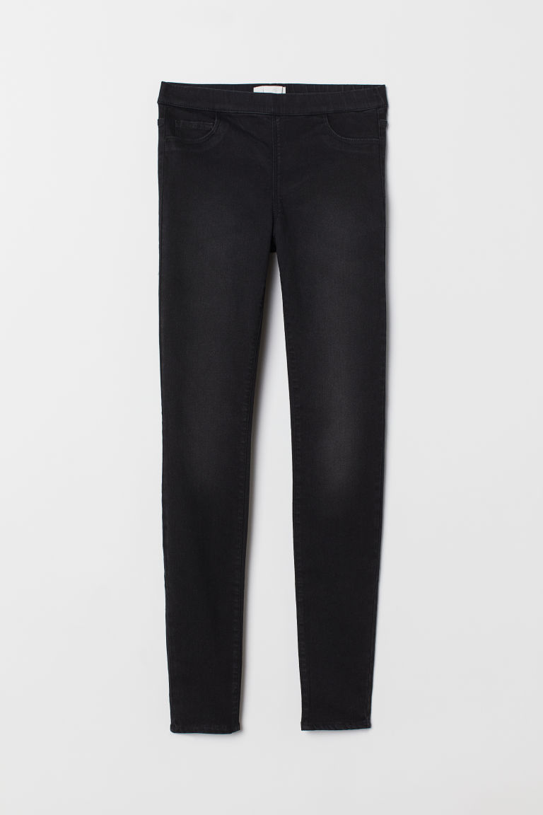 Slim-fit Treggings - Dark gray - Ladies | H&M US